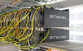 ビットメイン社製のマイニング装置は仮想通貨市場を席巻してきた=ロイター