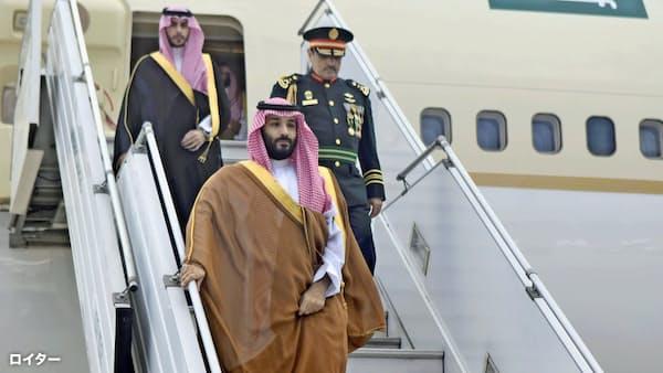 サウジ皇太子、G20でアルゼンチンに到着 厳戒態勢