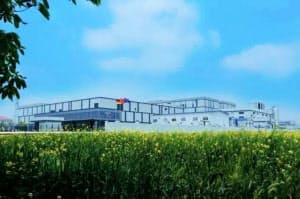 独製薬大手メルクは中国で医薬品関連の拠点を相次ぎ設ける(江蘇省南通市の製薬工場)