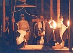 平成の代替わりに際して行われた大嘗祭(1990年11月22日、皇居)