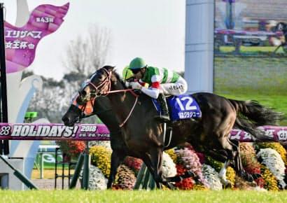 リスグラシューがエリザベス女王杯を勝ってから関西馬のG1勝利はない=共同