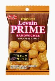 ヤマザキビスケットが発売する「ルヴァンプライムミニサンド スモークサーモン味」