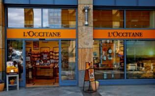 仏化粧品メーカー、ロクシタンの店舗=ロイター