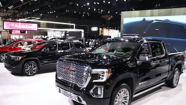 米国車メーカー、止まらぬ大型化 セダン離れ一段と ロス自動車ショー