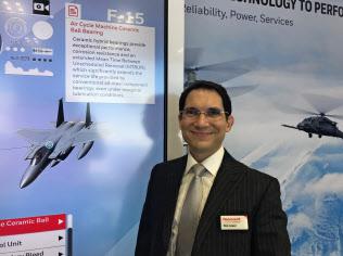 米ハネウェルで日本向けの防衛装備品の営業を担当するロナルド・ロペスシニアディレクター