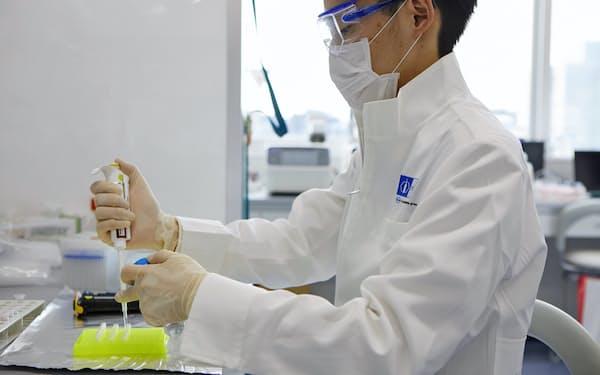 中外製薬の研究所