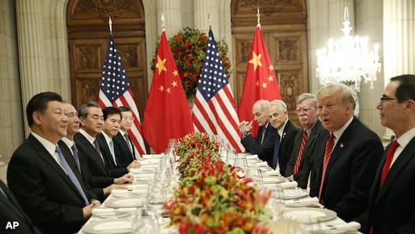 米、中国への追加関税を90日猶予 首脳会談で合意