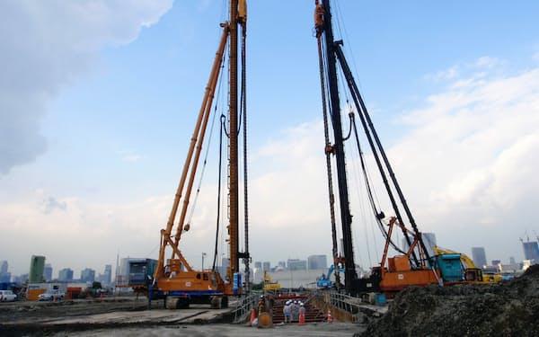 セメント系固化材は地盤改良や液状化対策など幅広い用途で活用される