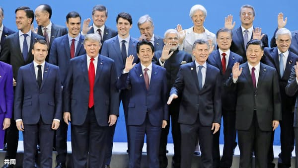 首相、米中欧ロとバランス外交 来夏の大阪G20にらむ