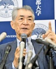 本庶佑京都大学特別教授