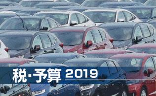 政府・与党は車を持つ人に毎年かかる自動車税の減税規模を1千億円超とする調整に入った