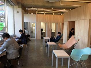 ザイマックスが展開するサテライトオフィス「ZXY 三鷹」(東京都武蔵野市)