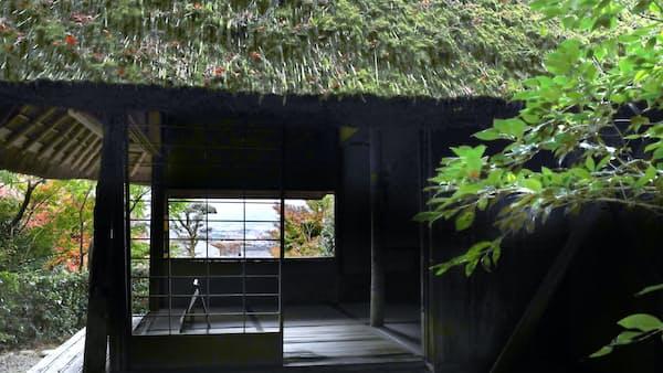 句の旅人慕い 蕪村再興 金福寺の芭蕉庵(もっと関西)