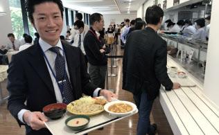 先々週のメニューは中華定食。大豆をすりつぶしてひき肉風に加工して作ったマーボー豆腐や五穀米のチャーハンのセットで値段は800円