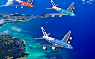 ANAは成田―ホノルル路線に世界最大の旅客機A380を投入する