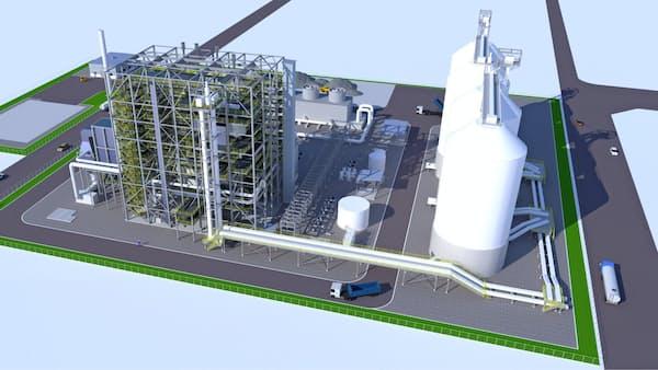 東洋エンジ、200億円でバイオマス発電所受注