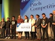 5日に実施されたピッチコンテストではバックテックが最優秀賞に選ばれた