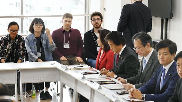 参院法務委、6日に首相出席で入管法改正案審議