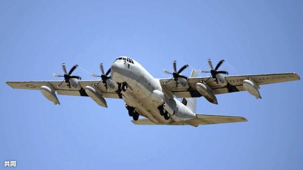 夜間の給油訓練中に接触か 高知沖の米軍機事故