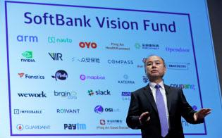 ビジョン・ファンドは1000億ドルの資金の一部を中国企業に投資する=ロイター