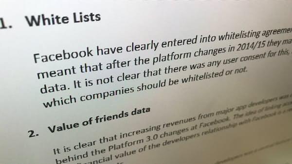 ツイッター締め出し「やれ」 フェイスブックCEO