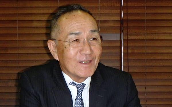 鈴木社長は中期的な成長性に自信を示す