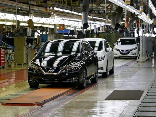 日産自動車では完成検査を巡り不正が後を絶たない(神奈川県横須賀市の追浜工場)