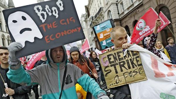 世界失業率40年ぶり低水準、ギグ・エコノミー一因