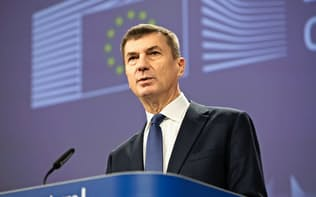 欧州委員会のアンシプ副委員長(12月7日、ブリュッセル)=欧州委員会提供