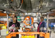 GMが2019年に生産を停止する米デトロイト市内のハムトラムク工場