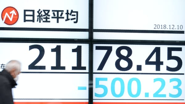 東証10時 安値圏で推移、中国株見極め コマツが年初来安値
