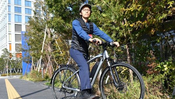 e―bike、1台20万円超 シニアも長距離快走