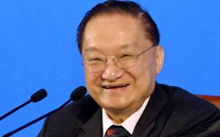 2007年に中国の国営新華社通信が配信した金庸氏の写真=AP