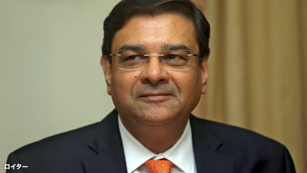 インド中銀、パテル総裁が辞任