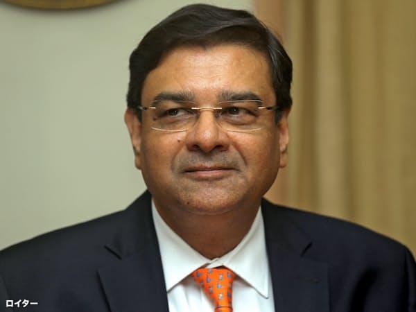 インド中銀総裁の辞任を表明したパテル氏=ロイター