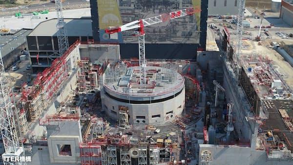建設進む国際核融合実験炉、日本のものづくりが貢献