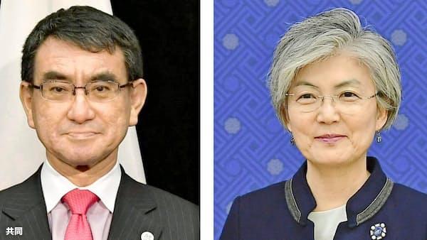 文議長発言「残念と伝えた」 河野外相、韓国に反論