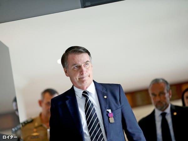 ブラジルのボルソナロ次期大統領=ロイター