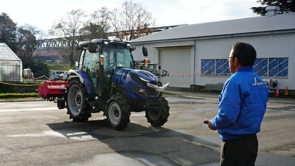 井関農機、無人で動くロボットトラクターを発売