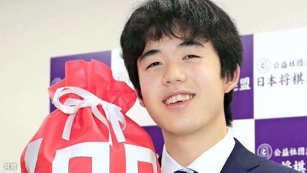 藤井聡太七段が最速100勝 最年少で最高勝率