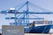 「一帯一路」構想の先兵役として、拠点確保を急ぐ(UAEのハリファ港)