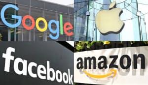 米IT界の巨人の特許から各社の情報セキュリティー戦略を探った