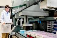 ロボット自動化とAI技術に強み(米ザイマージェンの研究施設)