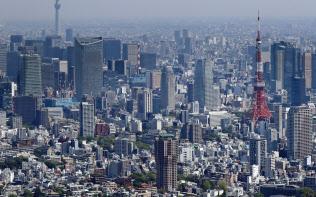 地方法人2税は4分の1が東京都に集中する