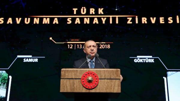 トルコ大統領、シリア軍事作戦を警告