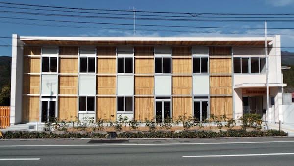 新建材CLTの森林管理署、国庁舎で初、高知・嶺北