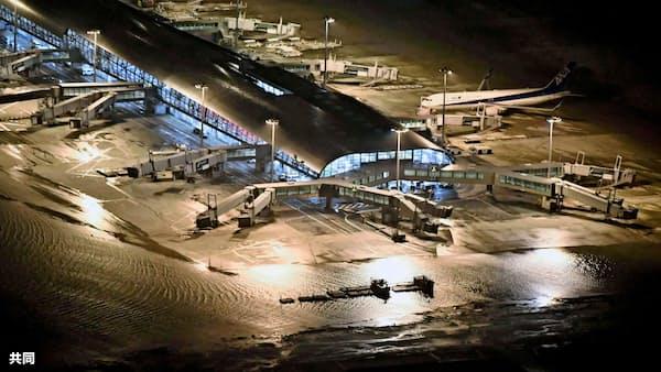 関空、災害後24時間で運用再開目標 台風被害で対策