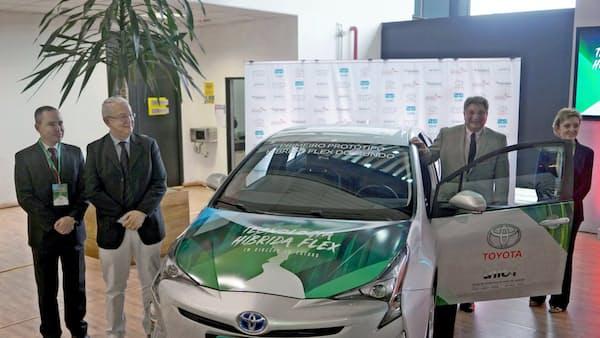 トヨタ、ブラジルでエタノール走行のHVを生産