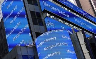 米投資銀行大手モルガン・スタンレーのニューヨーク本店ビル=AP