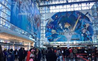 NY市で11月中旬に開催したコンベンションのアニメNYCには日本アニメのファンが押しかけた